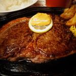 すてーき亭 - 大好評1ポンドステーキ