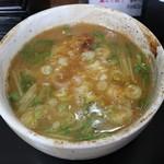 梶原製麺所 - スープ