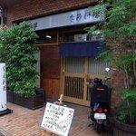 家庭料理 えい - お店の外観です。 シャネルハイツ新大阪83というマンションの1階にお店があります。