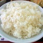 家庭料理 えい - ご飯はお代わり可能です。