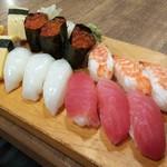 94170016 - お寿司5貫付き