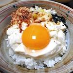 94170302 - 「おぼろとうふ」で豆腐丼をこしらえてみました