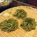 設楽 - 1809茶そば