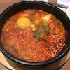 韓国料理Bibim - 料理写真:牛すじラーメンスンドゥブ+ご飯 1260円