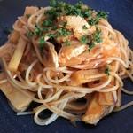 エントランス - 料理写真:チキンとさつま芋のトマトソース