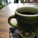 まどいせん - ファイヤーキングのマグカップ、ちなみに加古川駅近の古民家カフェ「空箱」さんもファイヤーキングです!(2018.10.8)