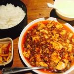龍の子 - 麻婆豆腐セット