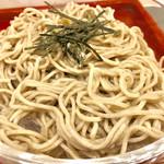 和かふぇ 遅々 - 料理写真:☆なまこそば。なまこをつなぎにした蕎麦だそうです。つるっとしてて、喉越しがいいです。