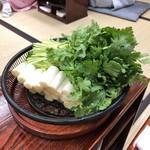 94177580 - あんこう鍋の野菜