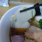 麺屋 力 - 鶏胸肉のチャーシュー