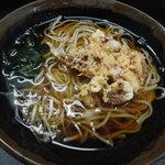 峠の蕎麦 - 料理写真:ゲソ天そば