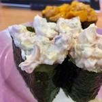 沼津魚がし鮨 - ホッキサラダ軍艦 180円