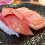 沼津魚がし鮨 - 大トロ・中トロコンビ 680円→650円