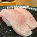 沼津魚がし鮨 - 超!かまトロ1貫 580円→500円×2=1,000円