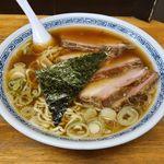 中華そば つけ麺 甲斐 - 料理写真:中華そば つけ麺 甲斐(チャーシュー麺 950円)