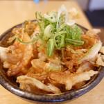 本町製麺所 天 - 小海老天小丼