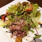 シエル ブルー - 馬肉のカルパッチョ
