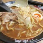 東横 - 割りスープ投入~♪