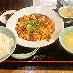 天福居 - 麻婆定食 750円