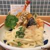 みししっぴ饂飩 - 料理写真:海老天のおうどん(冷)