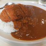 カレー専門店 横浜 - 料理写真:カツカレー中盛
