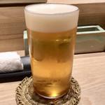 鳥おか - 生ビール