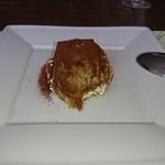 オステリアガウダンテ - デザートのティラミス