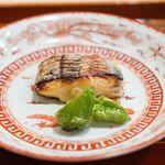 津の守坂 小柴 - 太刀魚の塩焼き 京都山科唐辛子