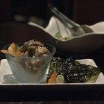 一砂 - 新秋刀魚の炙りなめろう 800円。