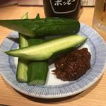晩杯屋 - モロQ150円(2018.09)