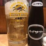 晩杯屋 - ハイッピー370円(2018.09)