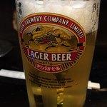 山家 - 生ビール♪