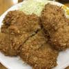 とんかつ山家 - 料理写真:大ヒレカツ定食
