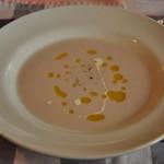 ヴィッラ デルピーノ - 赤カブのスープ