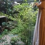 クレオパトラ - お庭