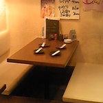 酒衆家 - テーブル席