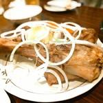 ウランバートル - 骨付き塩茹で肉