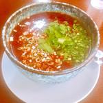 味かね - 紅麻辣担々麺(中辛)