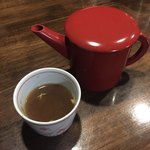 そば茶屋 極楽坊 - 蕎麦湯