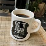 J.S. BURGERS CAFE - ランチセットのコーヒー