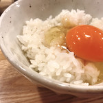 『肉山』 - 田中農場の卵かけご飯