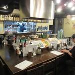 五島列島天然魚と日本酒 郷味 - 店内、13時前