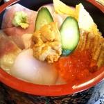 菊寿司 - 料理写真:上ちらし丼