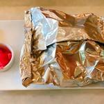 OIC食堂 - 鮭のチャンチャン焼き(550円)