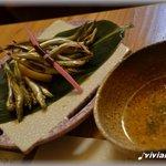 四季菜家・彩 - かます子の炙り,土佐酢