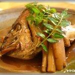 四季菜家・彩 - 鯛のあら煮