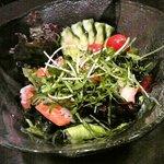 酒房 がんがら - 海鮮サラダ