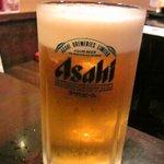 酒房 がんがら - ビールはスーパードライ