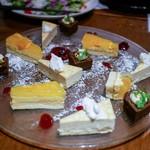 ブルーバード - ☆デザート  本日の一口デザート3種盛り合わせ