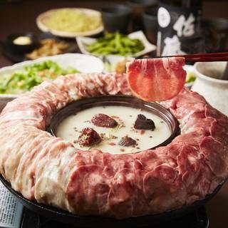 ローストビーフに薬膳鍋など◆各国のテイストを活かした創作和食